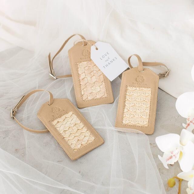Suvenir Pernikahan dari Anyaman