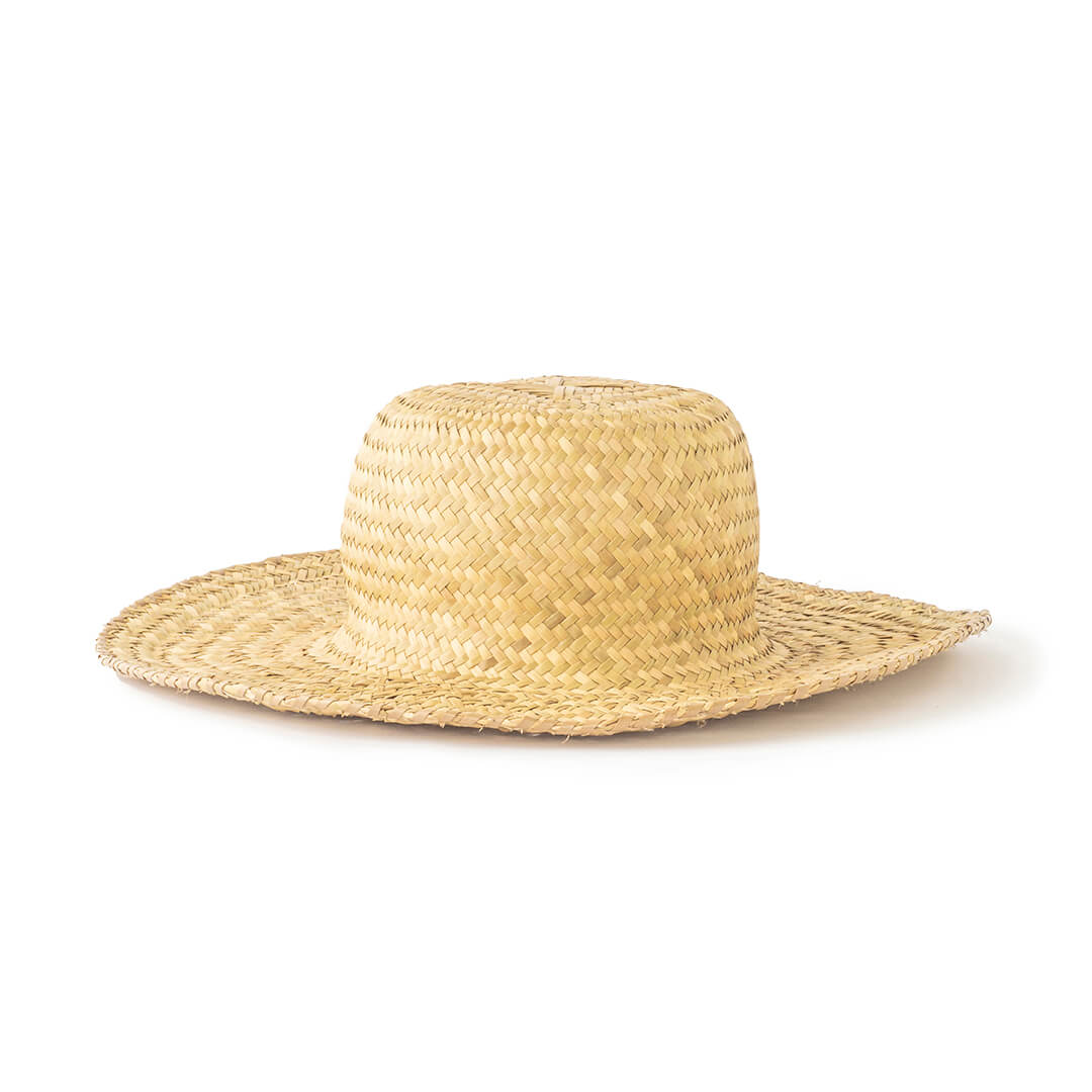 Topi Pantai Wanita dari Anyaman
