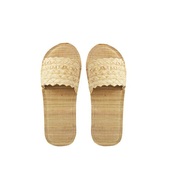 Eco Friendly Slippers dari Anyaman