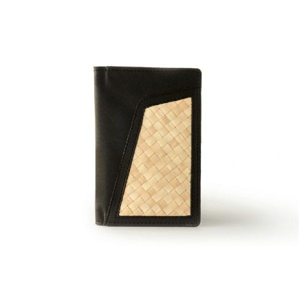Passport Cover Anyaman dan Kulit