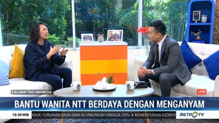 Selamat Pagi Indonesia Metro TV DU ANYAM