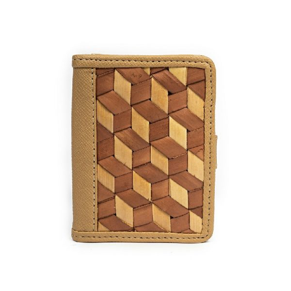 Dompet Kartu dari Anyaman Lontar