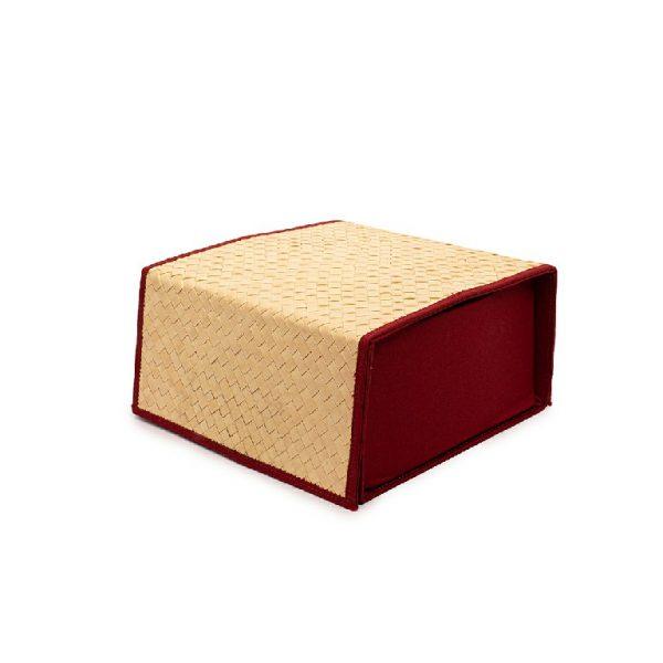 Hampers Box dengan Tutup Anyaman