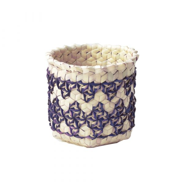 Storage Basket dari Anyaman Lontar