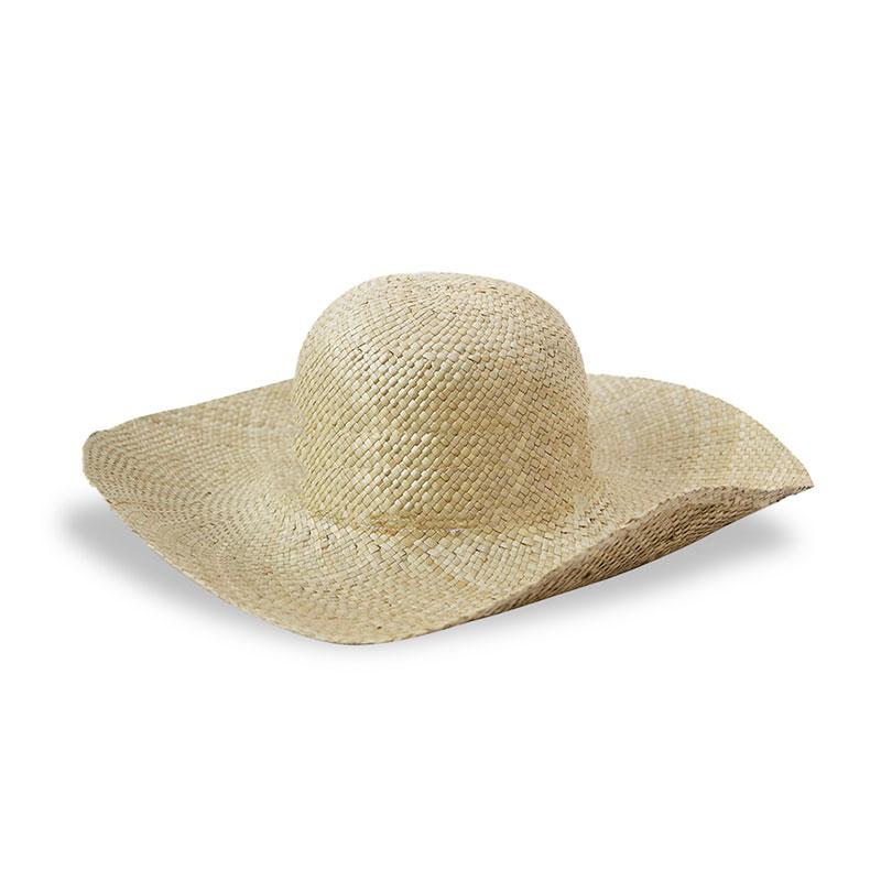 Topi Pantai Anyaman Pandan Wanita