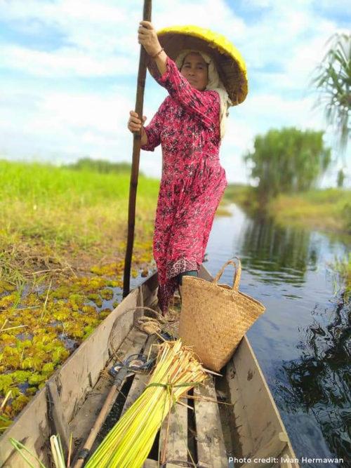 Penganyam Purun Kalimantan Selatan